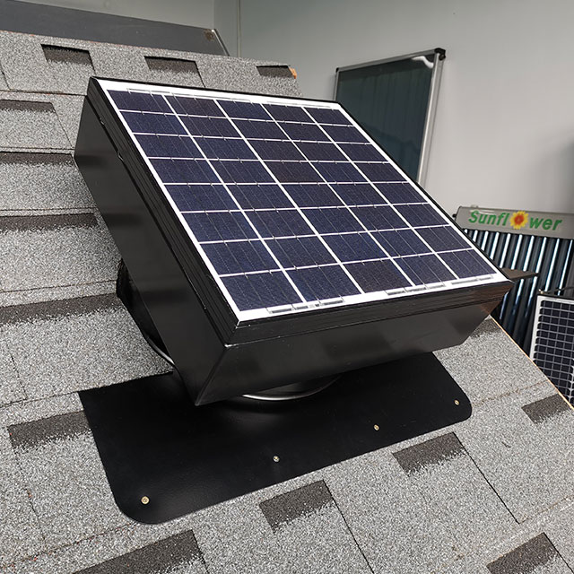 How to correctly set the thermostat of Solar Powered Attic Fans