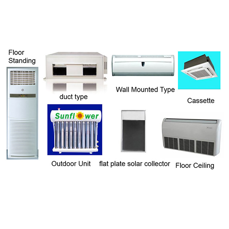 Cassette Thermal Hybrid Solar Air Conditioner